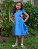 Royal Blue Taffeta Dress