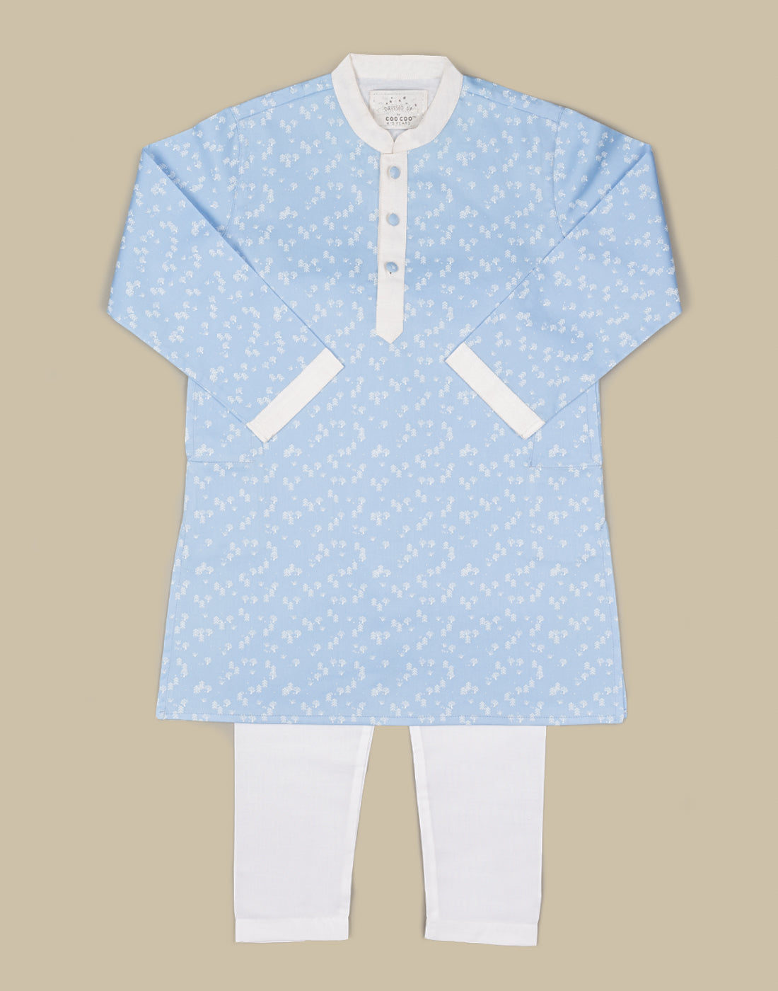 Snow Flake Kurtha Set