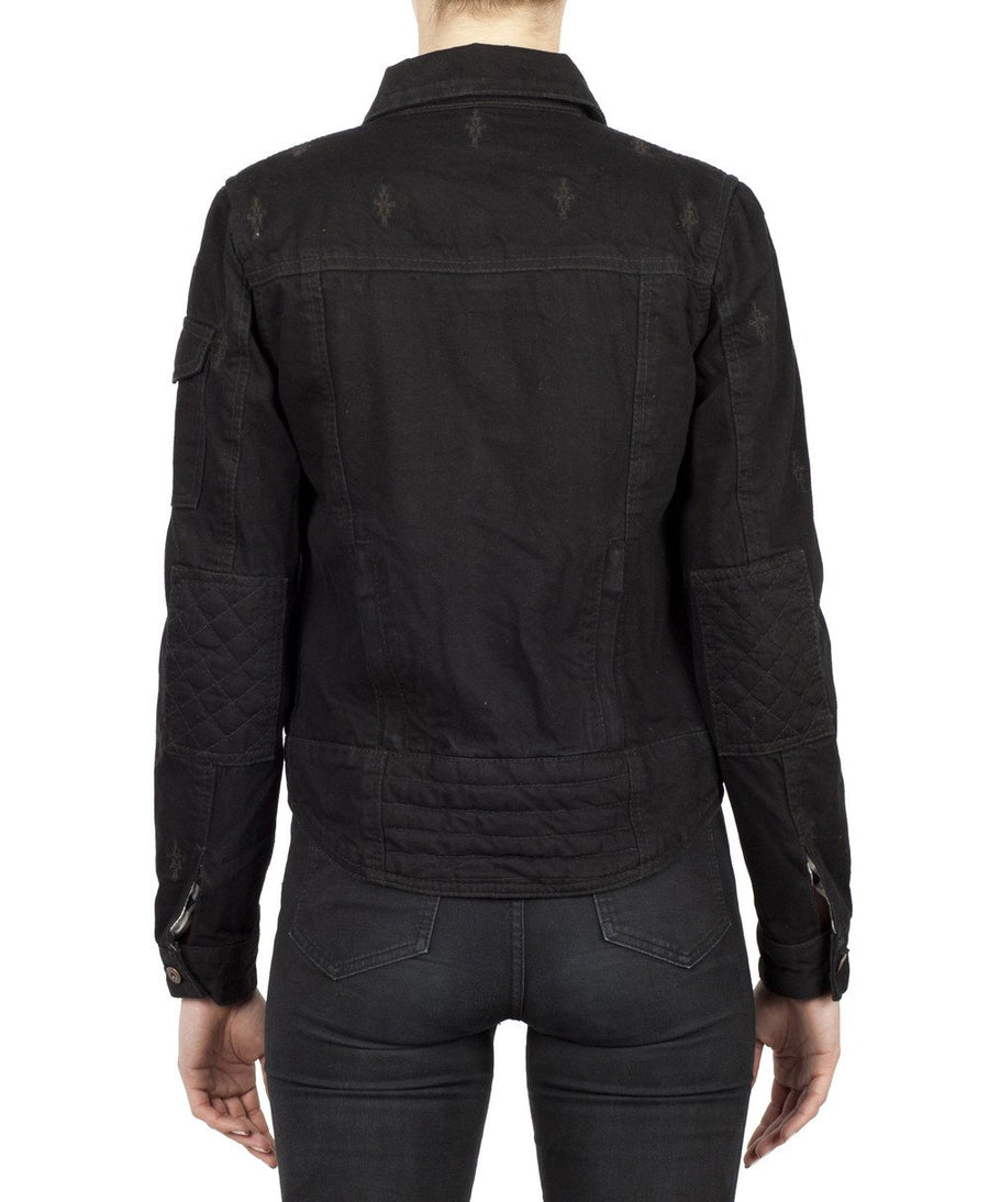Nowhere Bound Motorcycle Jacket - Black Arrow Moto Gear