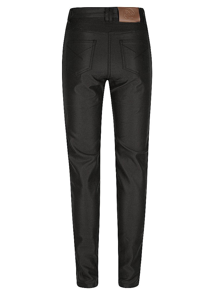 Lucille Motorcycle Jeans Black - Black Arrow Moto Gear