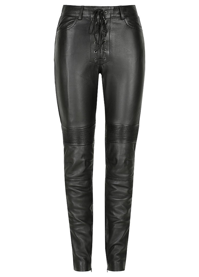 Belle Noir Motorcycle Pants