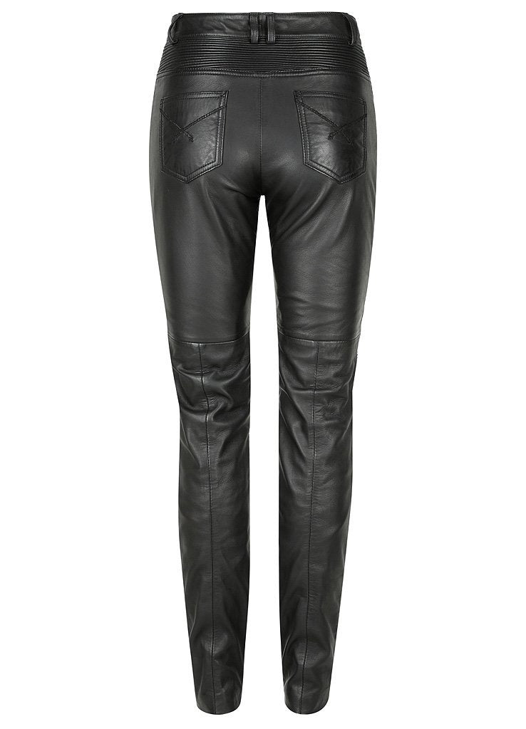 Belle Noir Motorcycle Pants - Black Arrow Moto Gear
