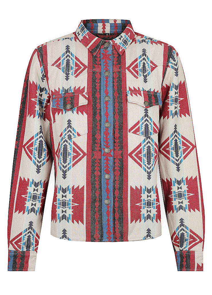 Savannah Motorcycle Shirt - Southwest