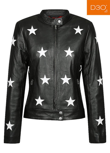 Midnight Motorcycle Jacket - Black Arrow Moto Gear