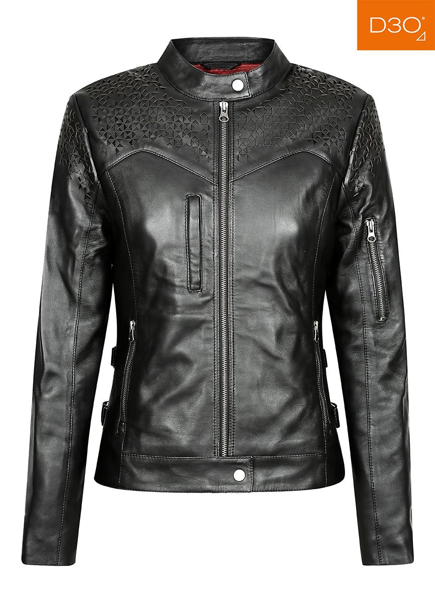 Trix Motorcycle Jacket - Black Arrow Moto Gear