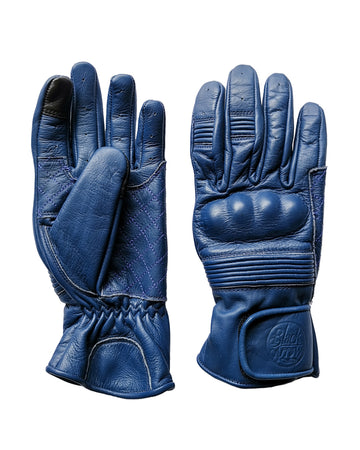 Queen Bee Motorcycle Gloves COBALT