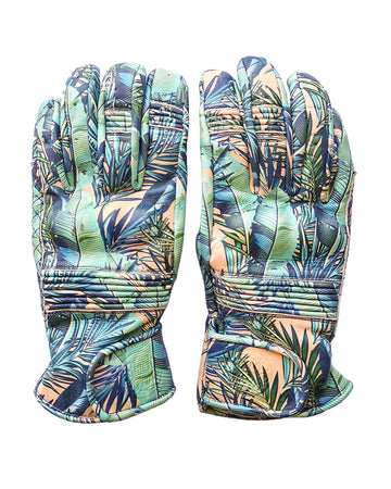 Queen Bee Motorcycle Gloves PALM PRINT