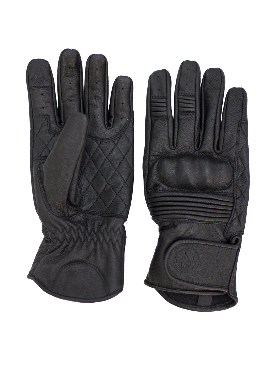 Queen Bee Motorcycle Gloves BLACK - Black Arrow Moto Gear
