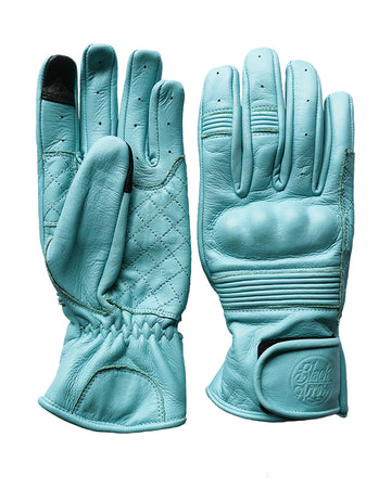 Queen Bee Motorcycle Gloves TURQUOISE