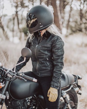 Night Hawk Motorcycle Jacket