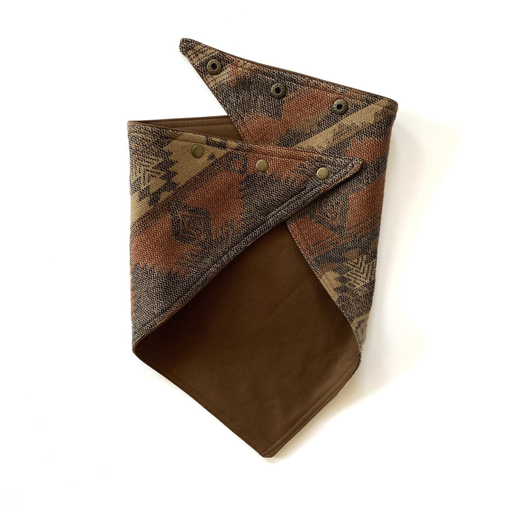 Brown Bull Denim/Buffalo Run Knit Bandana