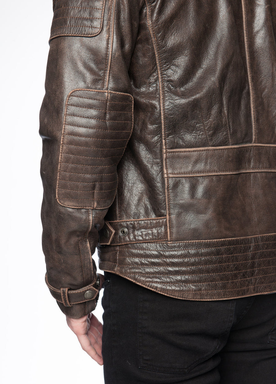 Mens Night Hawk Motorcycle Jacket