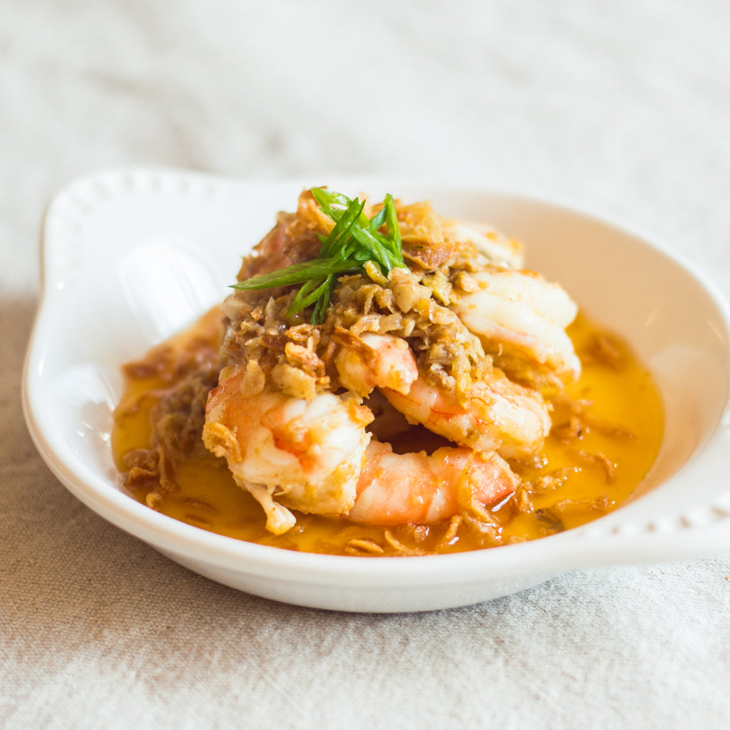 Prawns with Thai Compound Butter