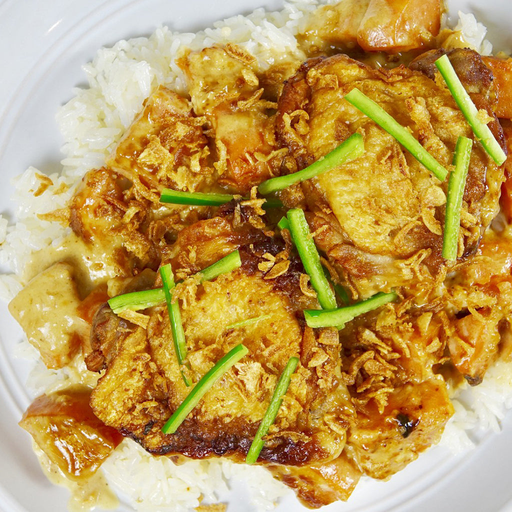 THAI INSPIRED CHICKEN ADOBO