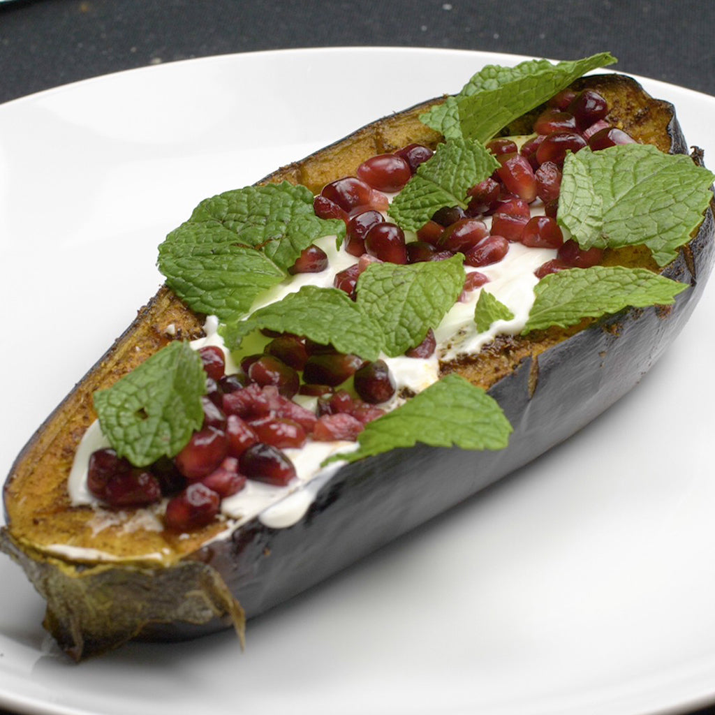 SIMPLE SPICE ROASTED EGGPLANT