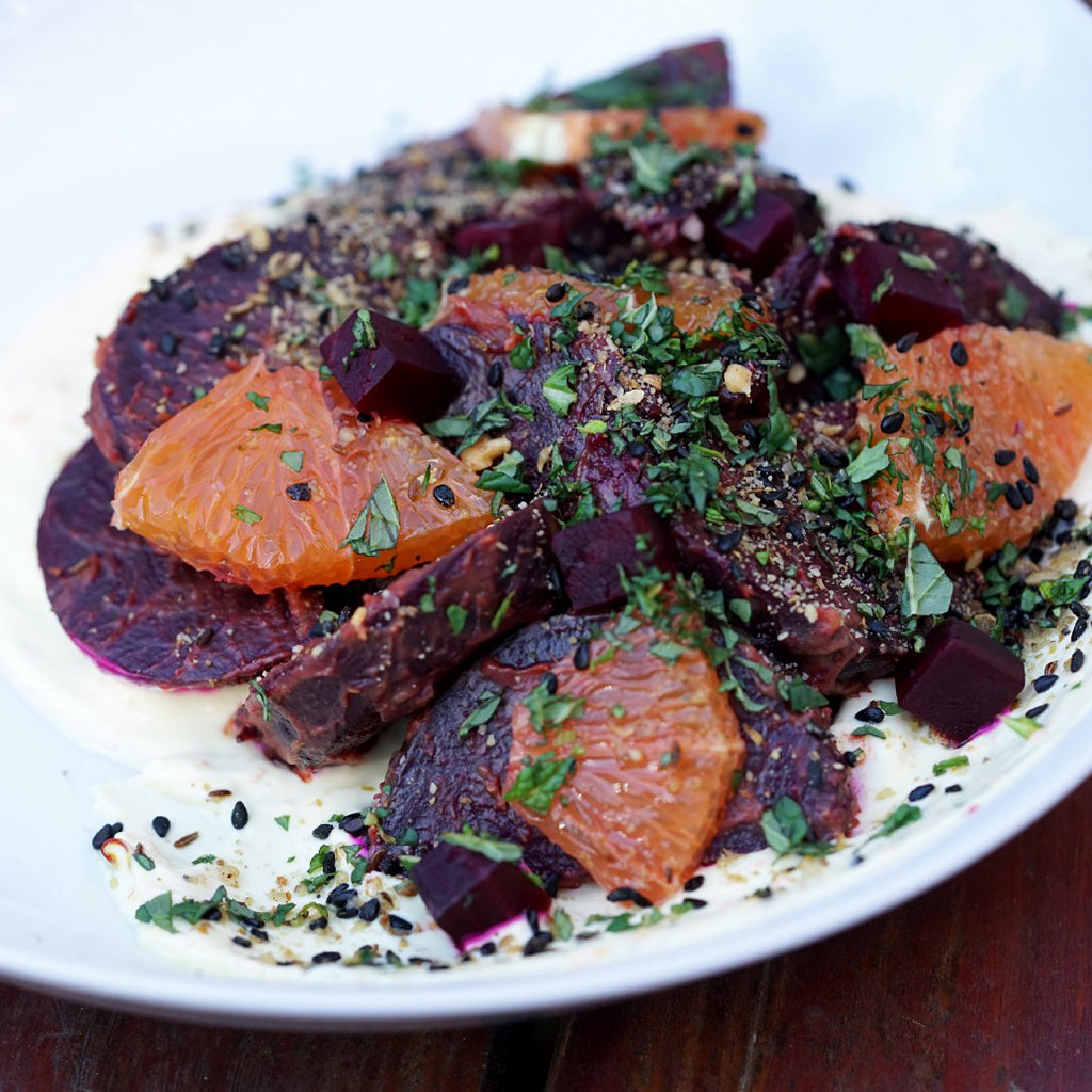 BEET SALAD W/ MOROCCAN SPICES