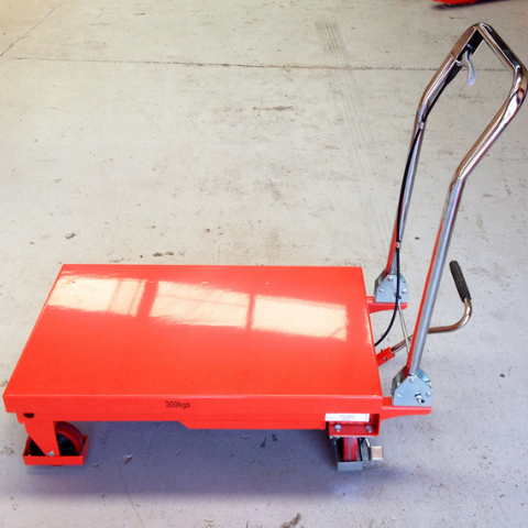 Hydraulic scissor lifter table lift 300kg