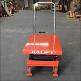 Hydraulic scissor lifter table lifter 350kg capacity lifting 1300mm