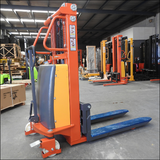 Semi Electric Walkie Stacker Lifter 1.5T Lift Height 2M