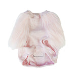 Light Pink Faux Fur Dog Top