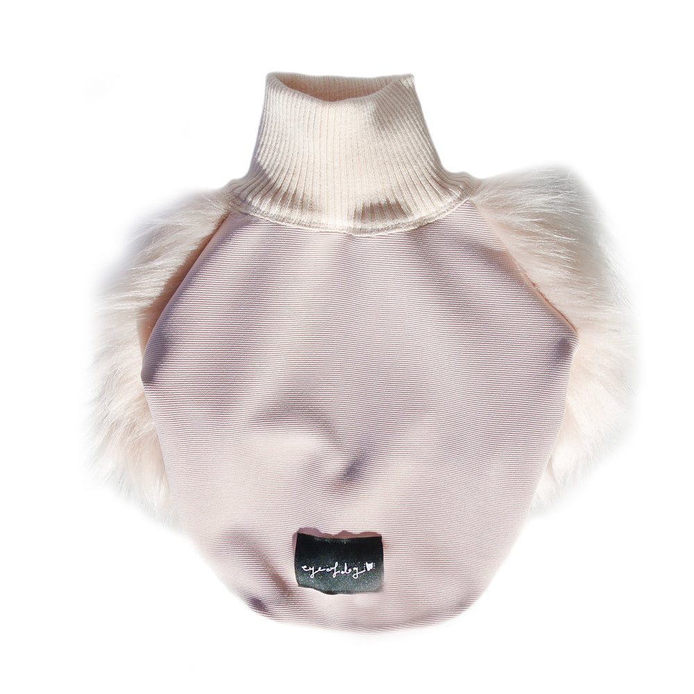 Milk Top Faux Fur