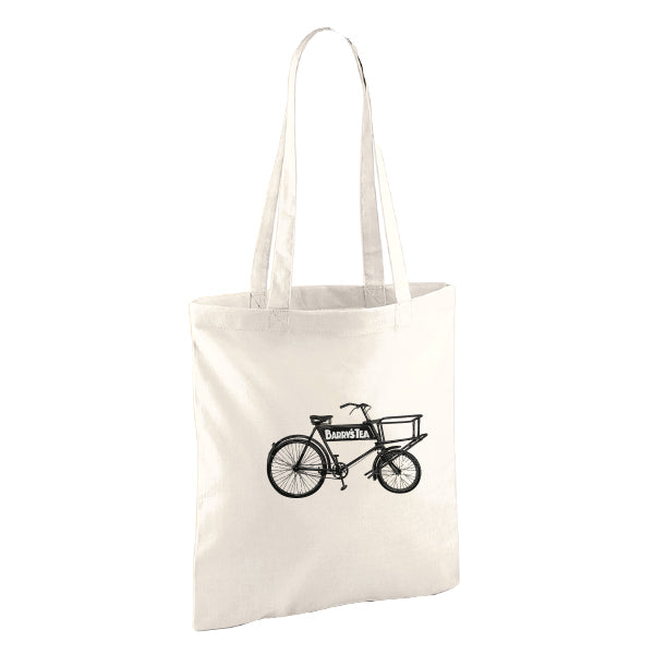 BARRY'S TEA BICYCLE TOTE BAG