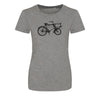 **NEW**  LADIES BICYCLE T-SHIRT