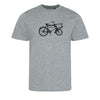 **NEW** MENS BICYCLE T-SHIRT