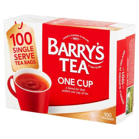 ONE CUP 100 TEABAGS