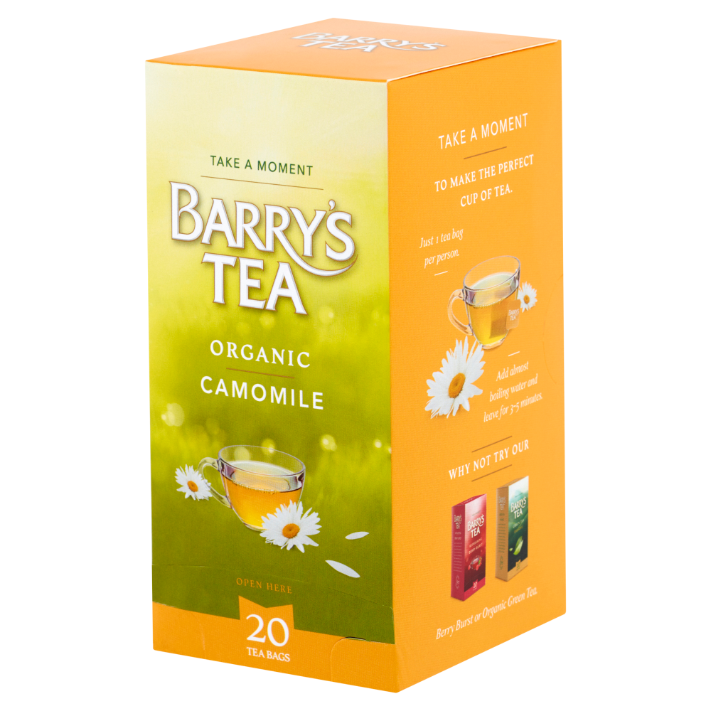ORGANIC CAMOMILE 20 STRING & TAG TEABAGS