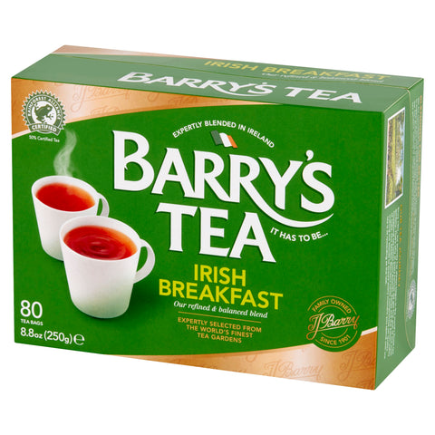 IRISH BREAKFAST TEA - 80 TEA BAGS