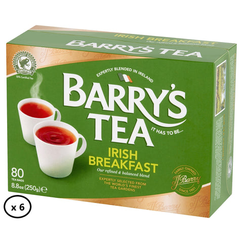 IRISH BREAKFAST 80s (6 PACK)