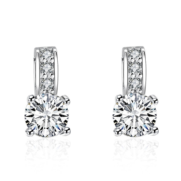 Big Diamond Earring Studs