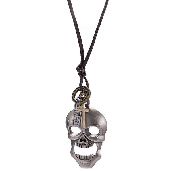 Skull Heads String Necklace