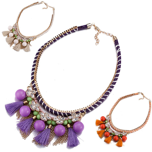 Beads Statement Necklaces