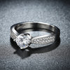 18 Carat White Gold Ring