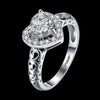 Big Heart Diamond Ring