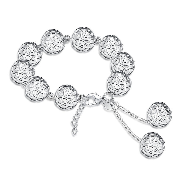 Hollow Out Ball Bead Bracelet