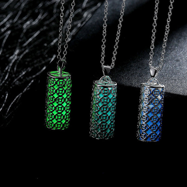 Glow Sticks Pendant Necklace
