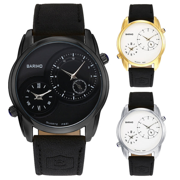 Men Wrist Quartz Watch