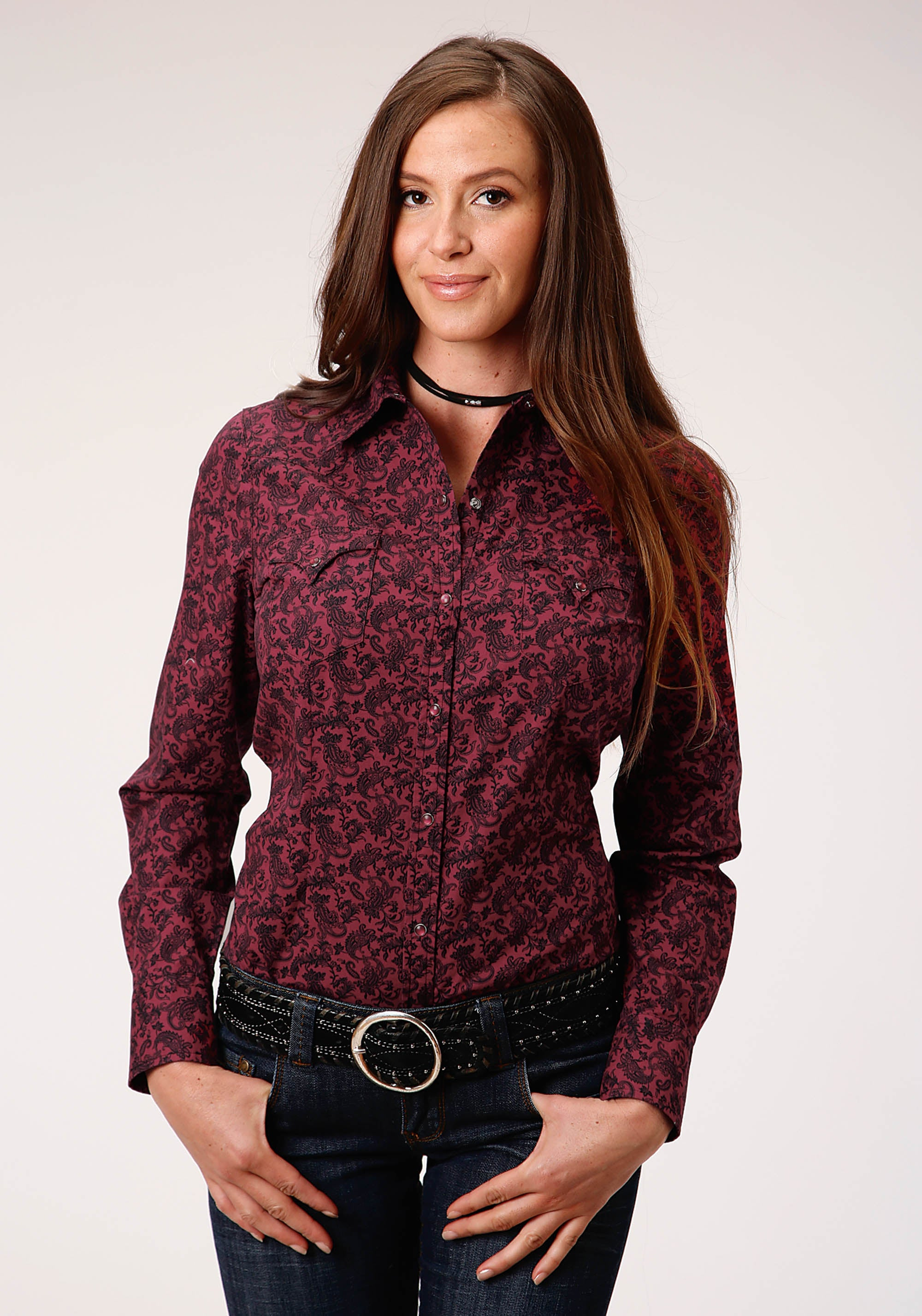 WEST MADE WOMENS WINE 00321 WINE PAISLEY