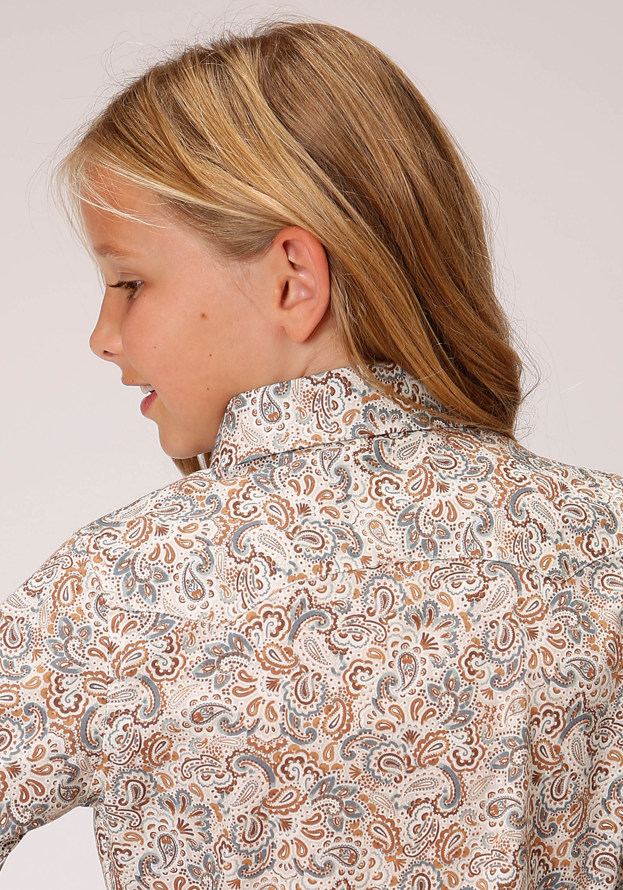 WEST MADE GIRLS BROWN 00319 GRAND DAD'S PAISLEY