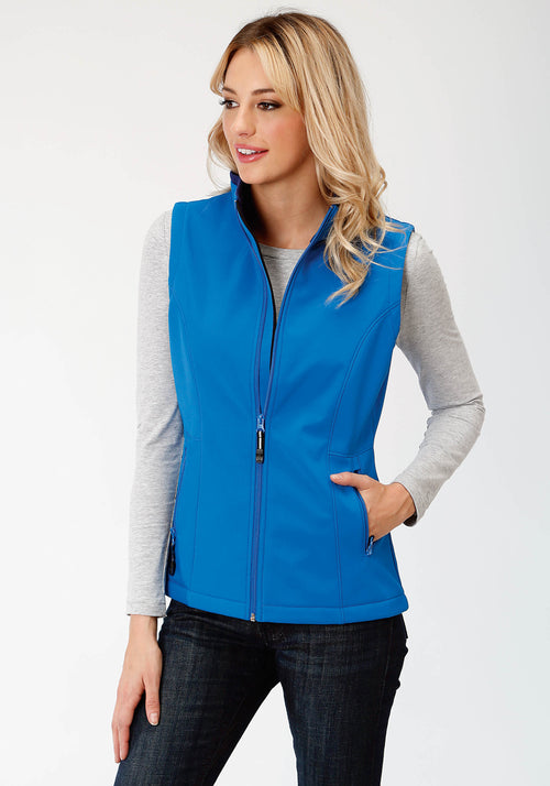 OUTERWEAR WOMENS BLUE 9429 MARINE BLUE & NAVY FLEECE BACKING TECH GROUP
