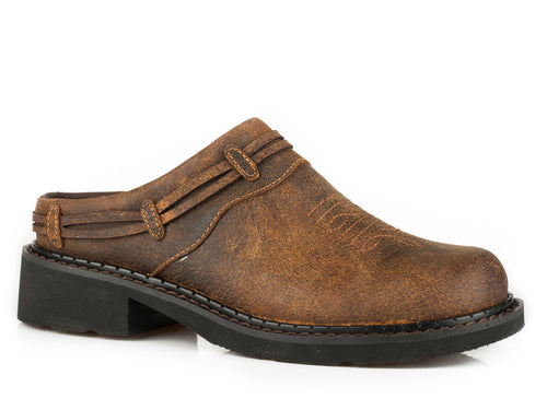 Roper WOMENS BROWN MULES