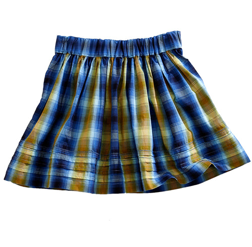 TIN HAUL LADIES BLUE 7590 TIMES UP OMBRE TIN HAUL COLLECTION SKIRT