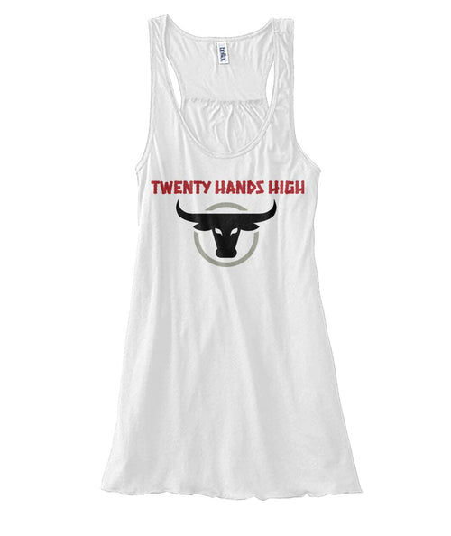 TWENTY HANDS HIGH Womens Soft Flowy Tank