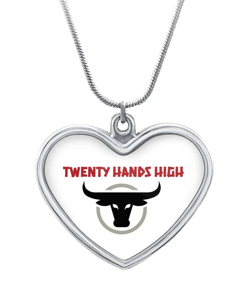 TWENTY HANDS HIGH - Heart Pendant Necklace Heart Necklace