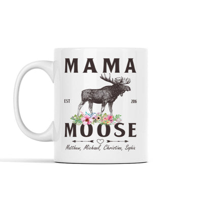 Mama Moose (Custom) Personalized Mug