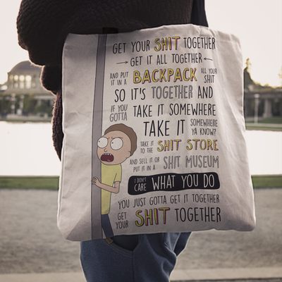 Get Your Sh*t Together Tote Bag