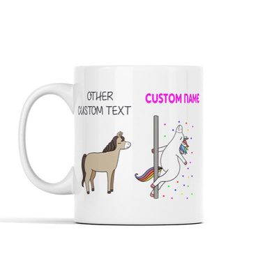 Funny Unicorn Personalized Mug